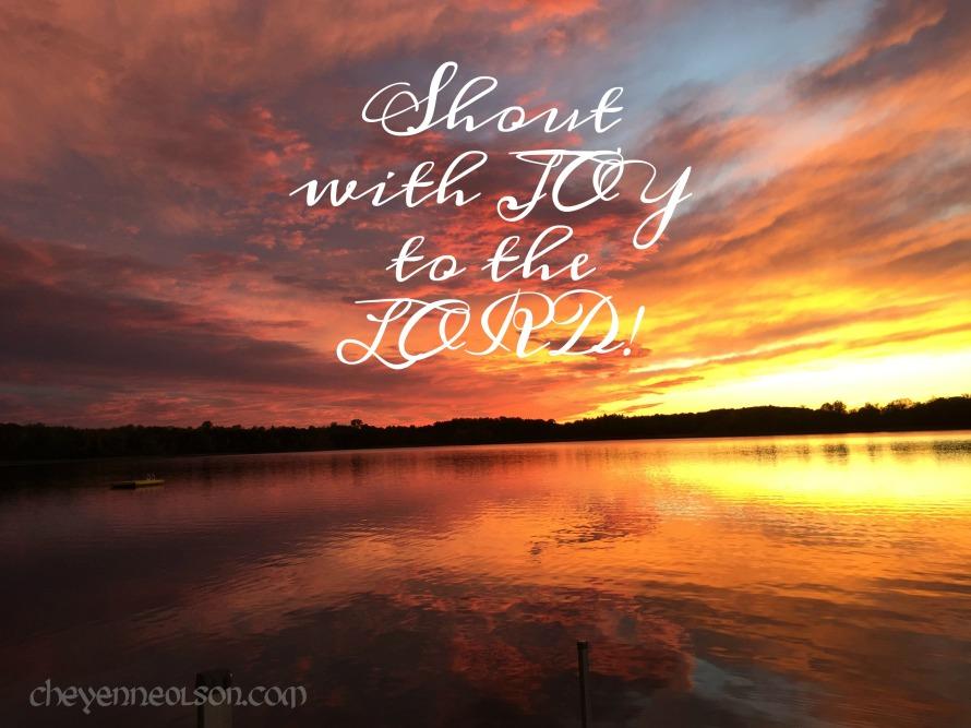 Psalm 100.1