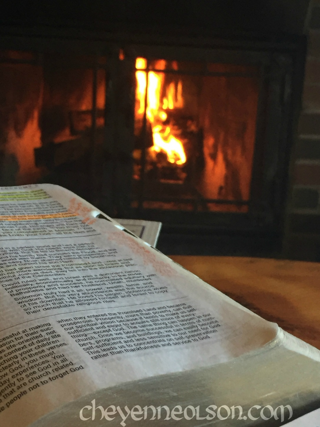 Fire and Bible