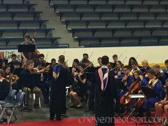 Graduation orchestra