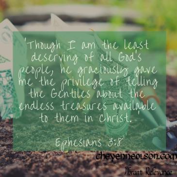 Ephesians 3_8