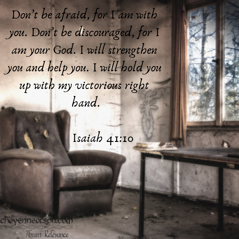 Isaiah 41.10