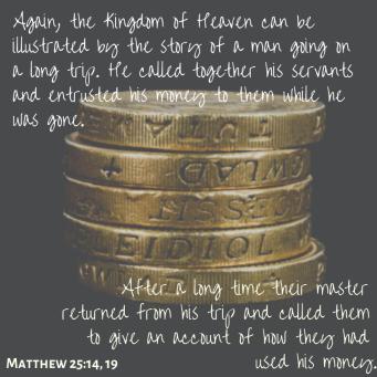 Matthew 25_14, 19
