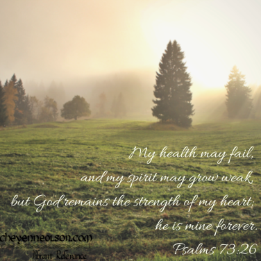 Psalm 73.26