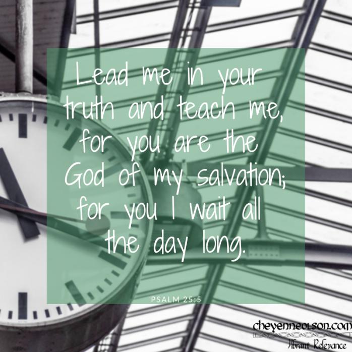 PSALM 25_5