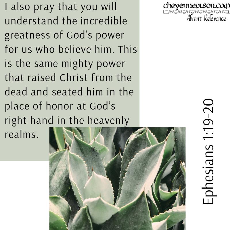Ephesians 1_19-20